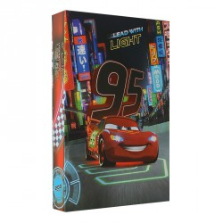 Lot de 3 Albums à Pochettes Disney Cars 300 Photos 10x15cm