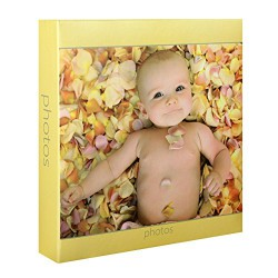 Album Photo Baby Rachael Hale Jaune 200 photos 10x15 cm