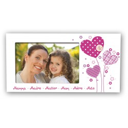 Cadre photo 10x15 horizontal MAMAN