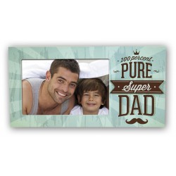 Cadre photo 10x15, super papa
