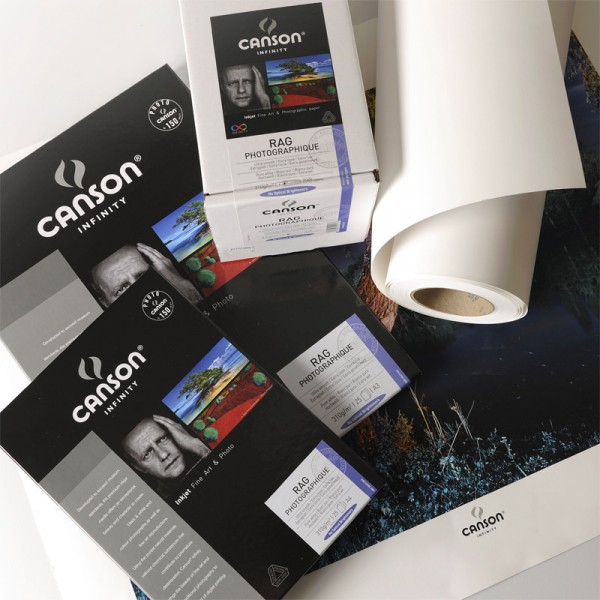 Canson Infinity Rag Photo 210 gr A4