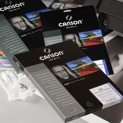 Canson Infinity Rag Photo Duo 220 gr A4