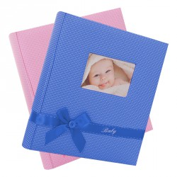 Album Photo Naissance Traditionnel BABY'S KISS 60 pages blanches