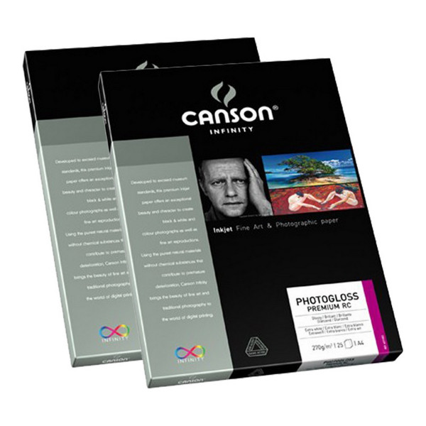 Canson Infinity Photogloss Premium RC 270 gr A4