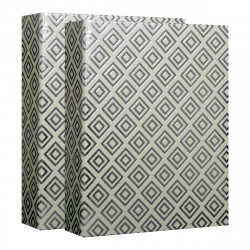 Album Photo Pochettes Diamonds Gris 160 Photos 10x15 cm - Lot de 2