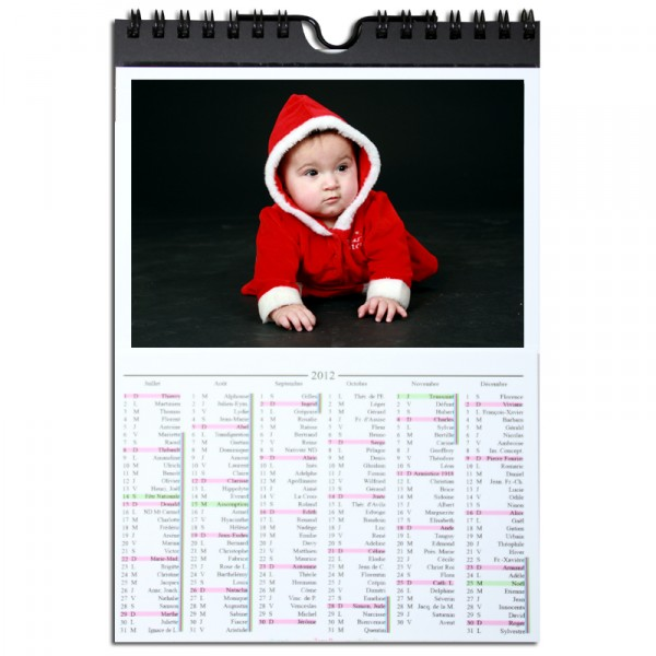 Recharge Calendrier Unibind 15x20