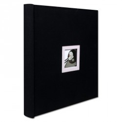 album photo traditionnel walther black white 50 pages lc distribution. Black Bedroom Furniture Sets. Home Design Ideas