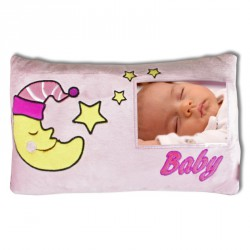 Coussin Baby Rose