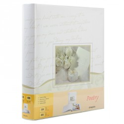Album Photo Mariage Poetry 29x32 100 pages blanches