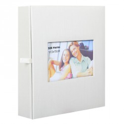 Album Photo Square Beige 300 photos 11.5x15 cm